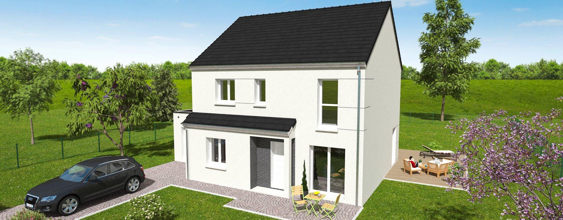 Maisons + Terrains du constructeur EASY HOUSE FRANCE • 132 m² • GIDY