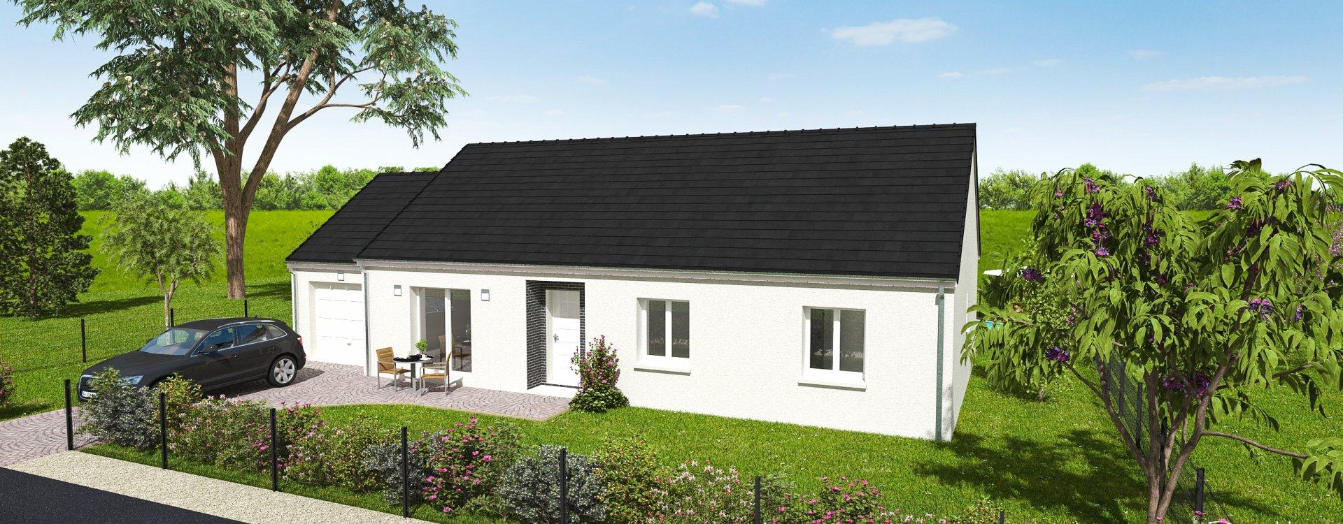 Maisons + Terrains du constructeur EASY HOUSE FRANCE • 102 m² • MARCILLY EN VILLETTE