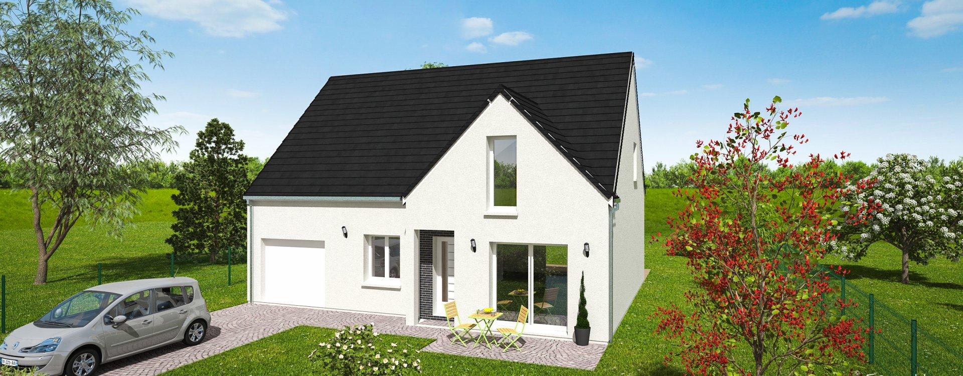 Maisons + Terrains du constructeur EASY HOUSE FRANCE • 125 m² • HUISSEAU SUR MAUVES