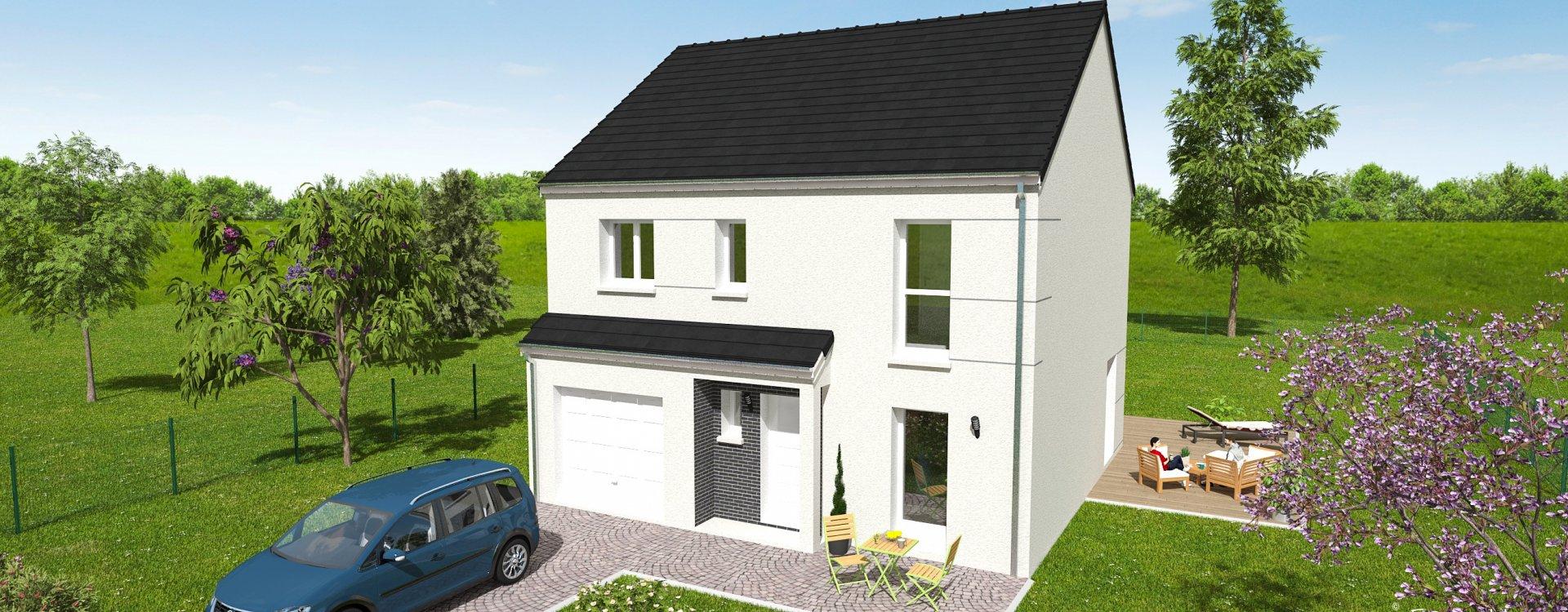 Maisons + Terrains du constructeur EASY HOUSE FRANCE • 114 m² • DARVOY