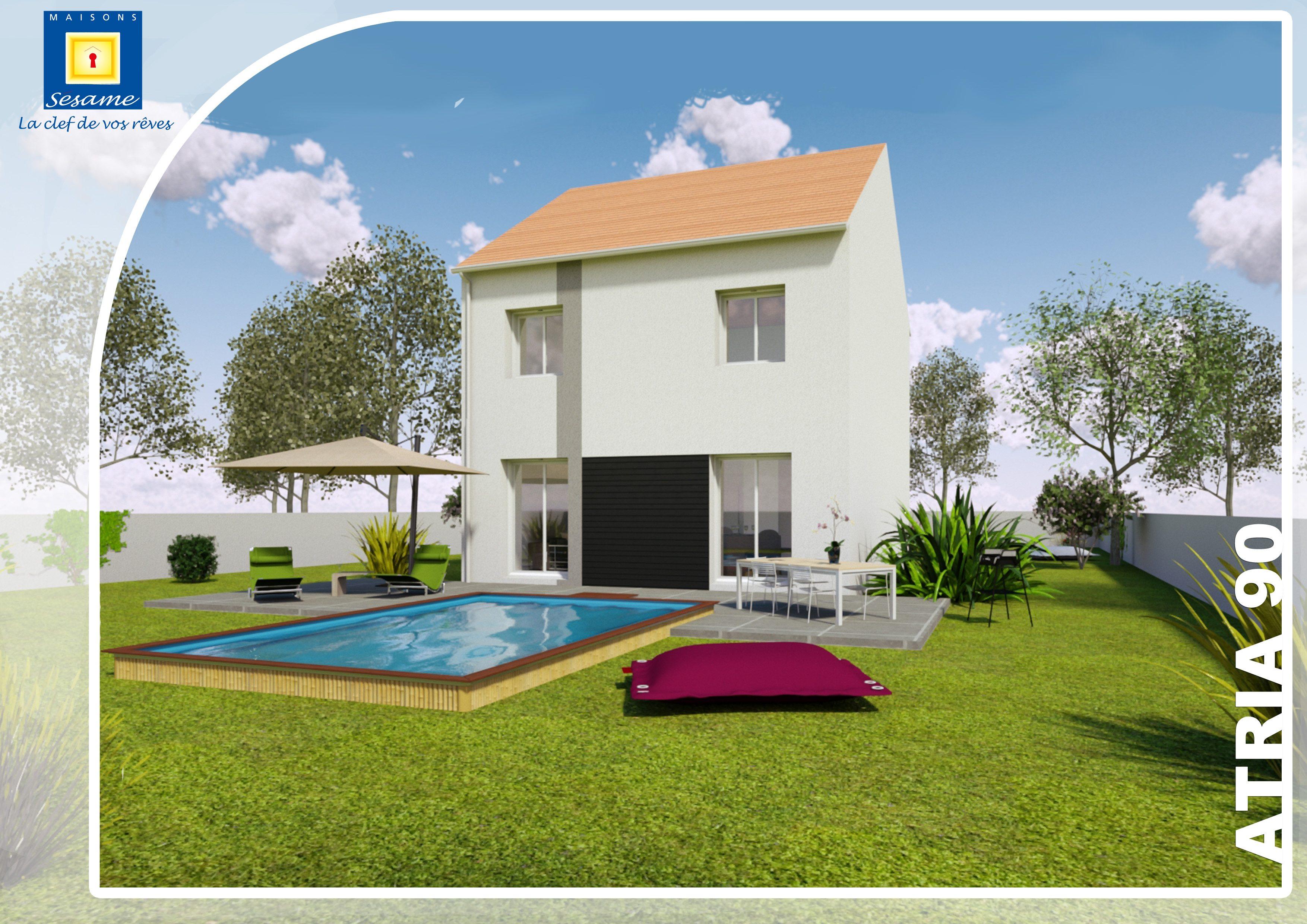 Maisons + Terrains du constructeur MAISONS SESAME • 90 m² • TREMBLAY EN FRANCE