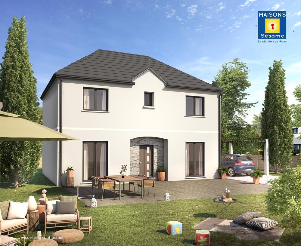 Maisons + Terrains du constructeur MAISONS SESAME • 135 m² • AULNAY SOUS BOIS