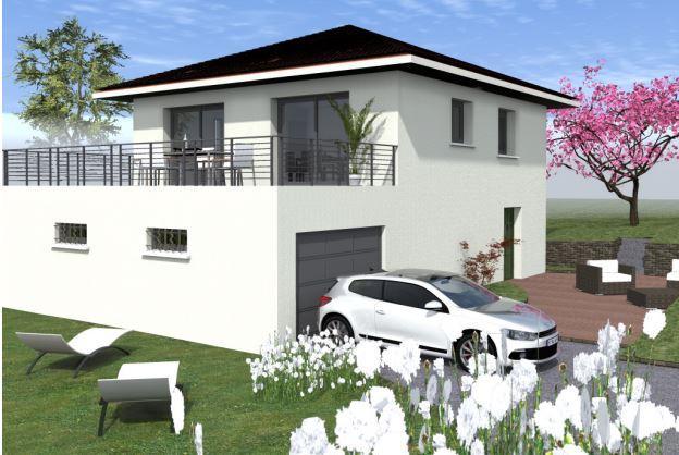 Maisons du constructeur TRADITION LOGIS SAVOIE • 92 m² • SAINT SULPICE