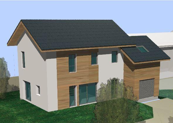 Maisons du constructeur TRADITION LOGIS SAVOIE • 107 m² • AIX LES BAINS