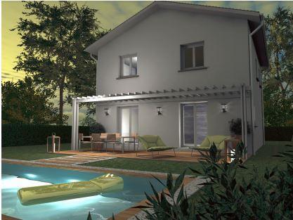 Maisons du constructeur TRADITION LOGIS SAVOIE • 90 m² • LES MARCHES