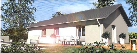 Maisons du constructeur TRADITION LOGIS SAVOIE • 100 m² • SAINT ALBAN DE MONTBEL