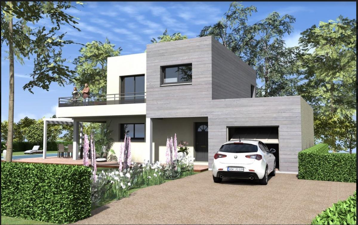 Maisons du constructeur TRADITION LOGIS SAVOIE • 110 m² • DRUMETTAZ CLARAFOND