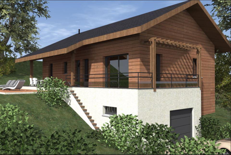 Maisons du constructeur TRADITION LOGIS SAVOIE • 91 m² • SAINT BALDOPH