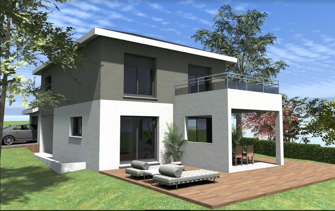 Maisons du constructeur TRADITION LOGIS SAVOIE • 95 m² • GRESY SUR AIX