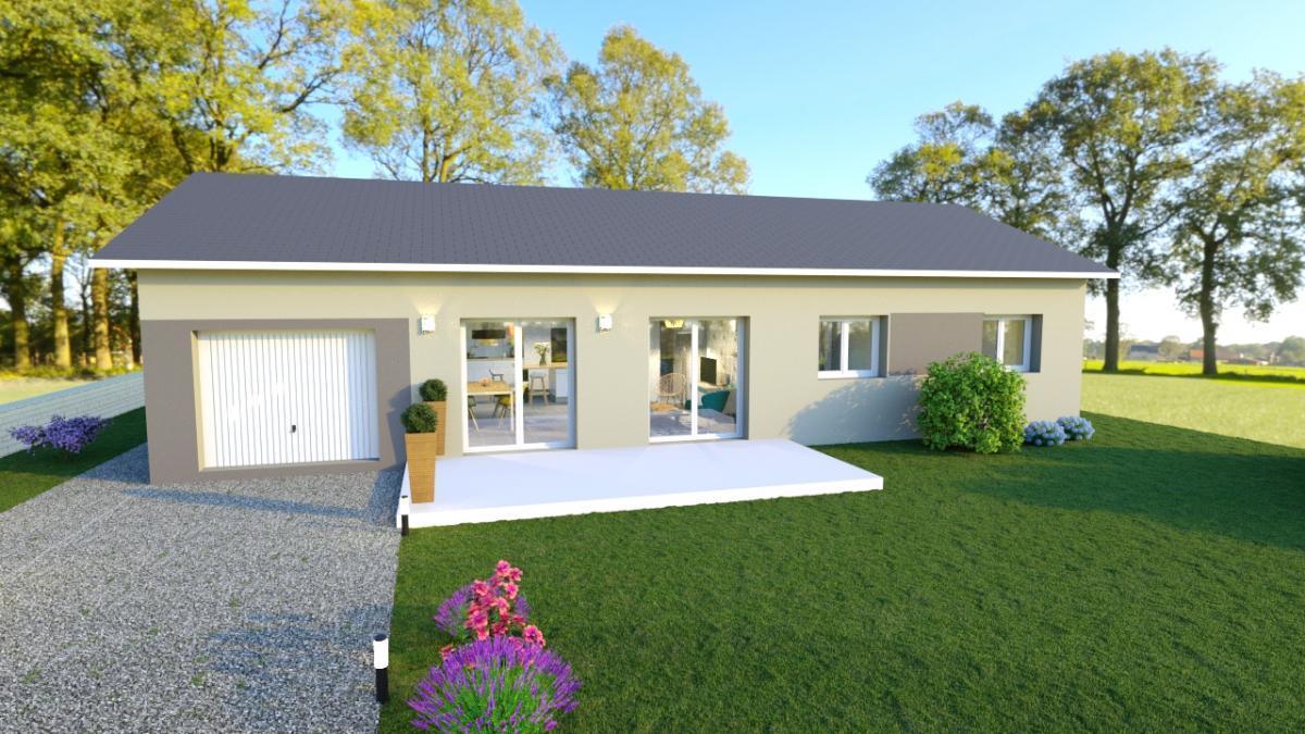 Maisons du constructeur TRADITION LOGIS SAVOIE • 80 m² • MERY