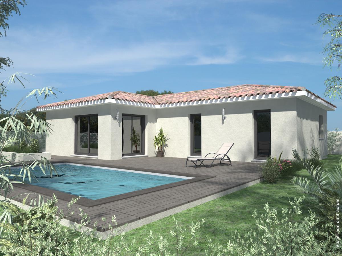 Maisons du constructeur CREAVILLA VAR • 90 m² • ROQUEBRUNE SUR ARGENS