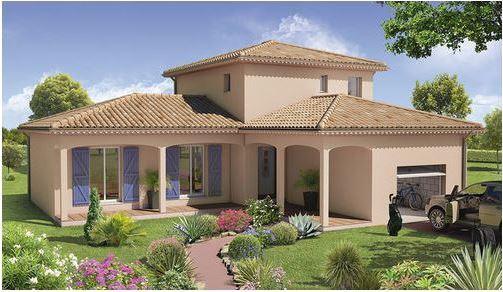 Maisons du constructeur CREAVILLA VAR • 110 m² • PUGET SUR ARGENS