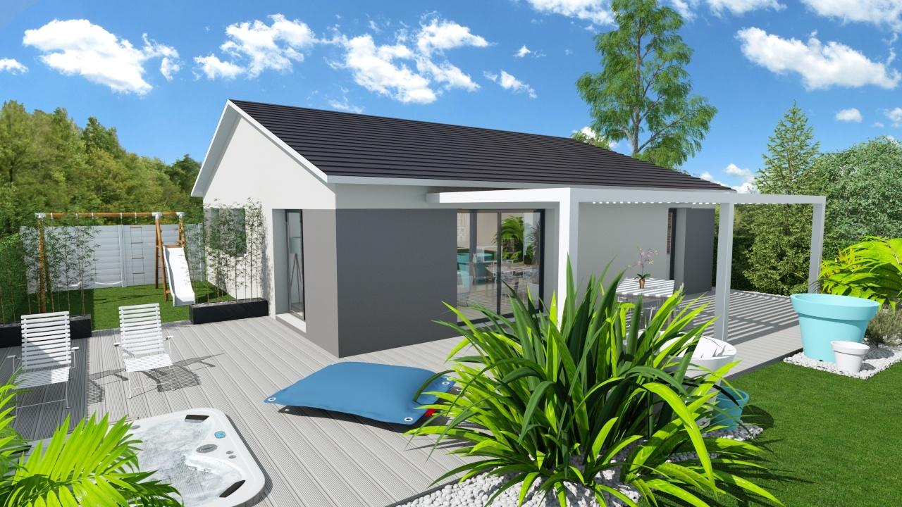 Maisons + Terrains du constructeur MAISONS PUNCH • 84 m² • DELUZ