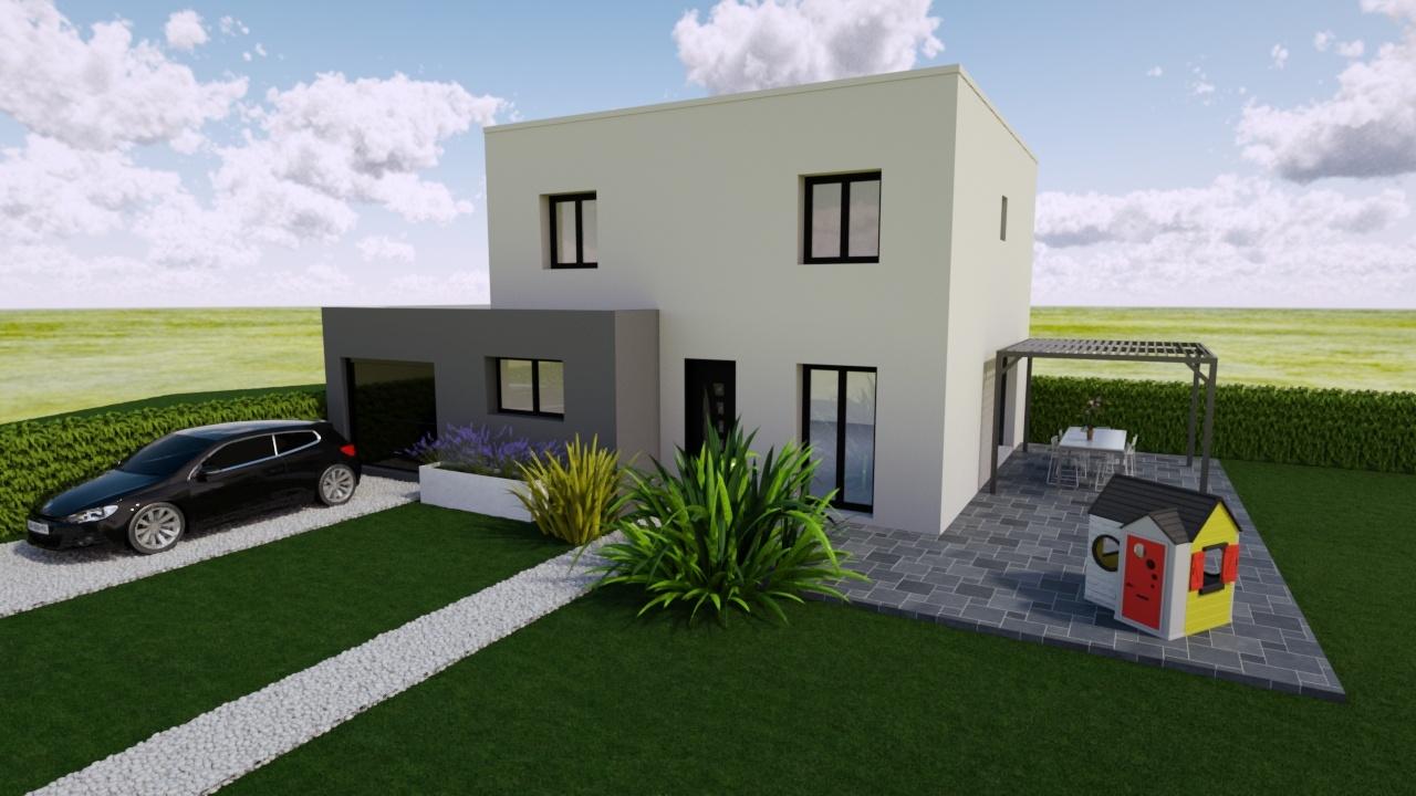 Maisons + Terrains du constructeur MAISONS PUNCH • 105 m² • BAUME LES DAMES
