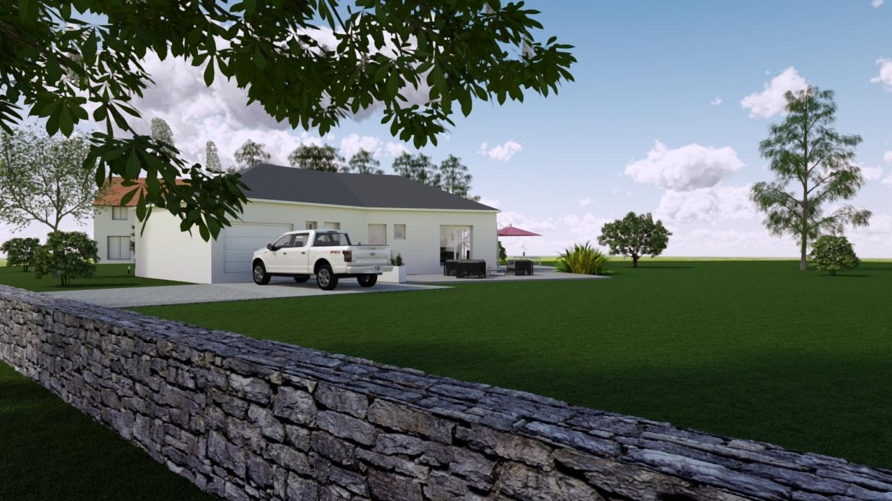Maisons + Terrains du constructeur MAISONS PUNCH • 95 m² • CHATILLON LE DUC