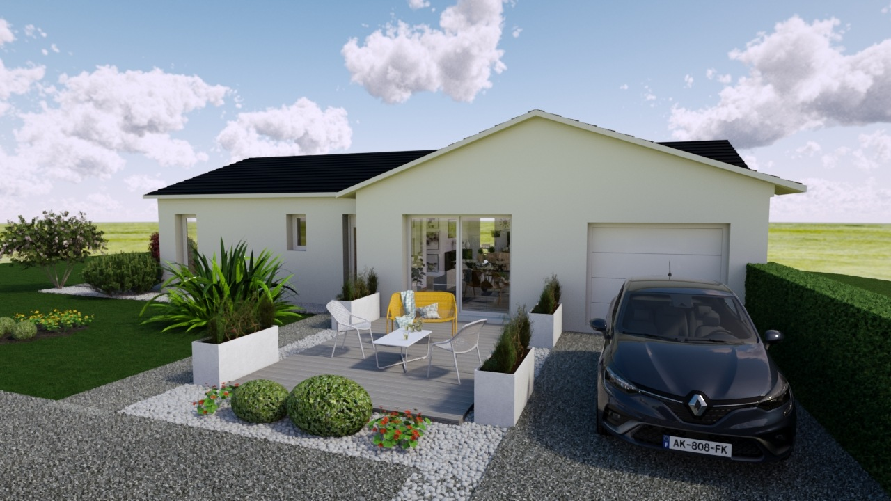 Maisons + Terrains du constructeur MAISONS PUNCH • 95 m² • BAUME LES DAMES