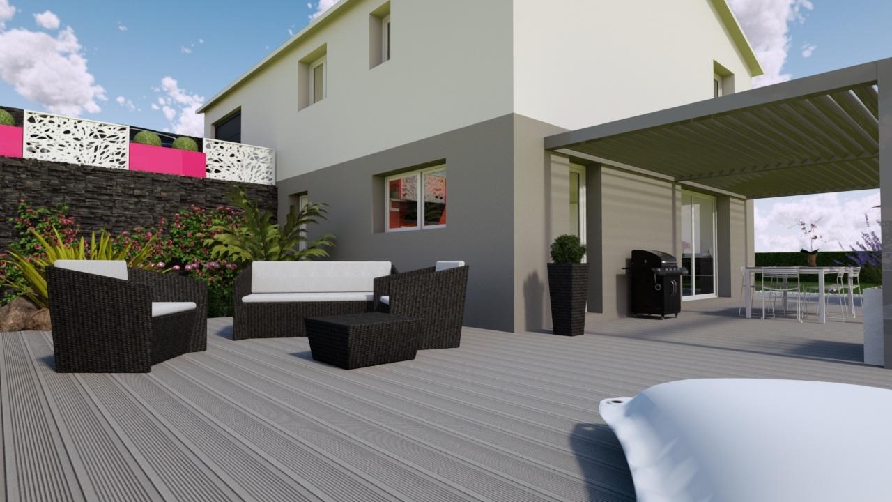 Maisons + Terrains du constructeur MAISONS PUNCH • 94 m² • LA TOUR DE SCAY