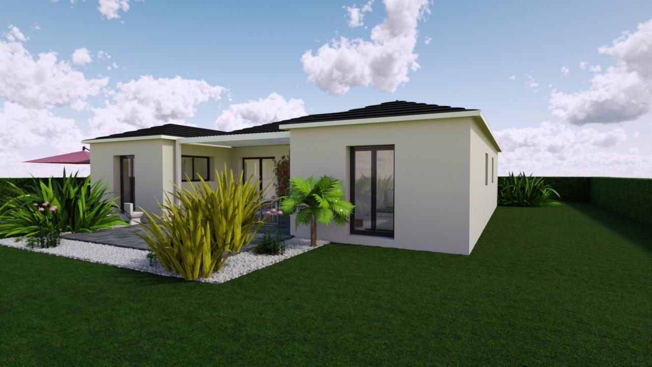 Maisons + Terrains du constructeur MAISONS PUNCH • 95 m² • TREPOT