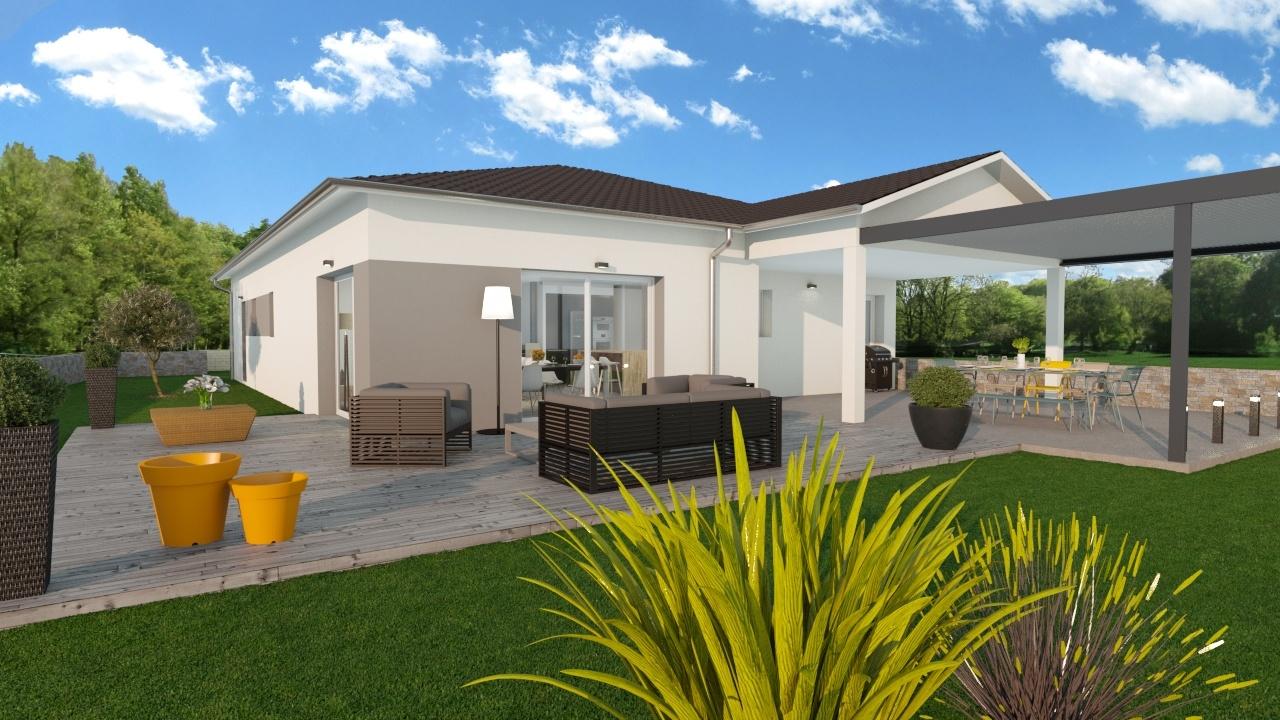 Maisons + Terrains du constructeur MAISONS PUNCH • 102 m² • EMAGNY