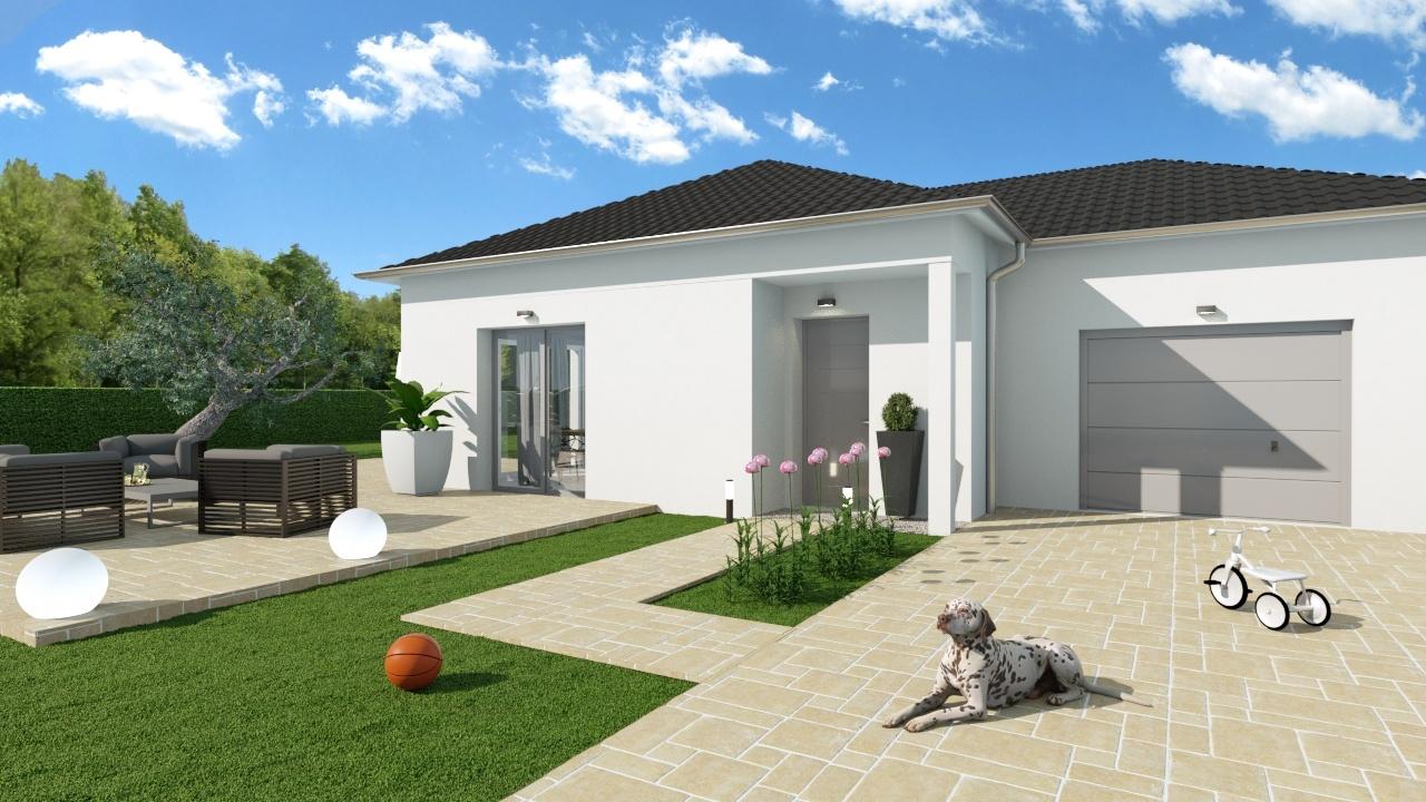Maisons + Terrains du constructeur MAISONS PUNCH • 83 m² • BAUME LES DAMES