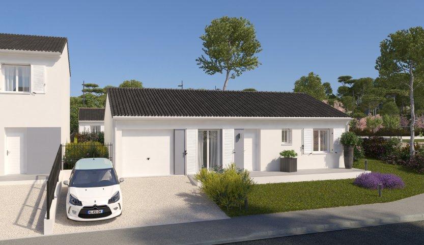 Maisons du constructeur MAISONS PIERRE - CHATEAU THIERRY • 78 m² • VILLERS COTTERETS