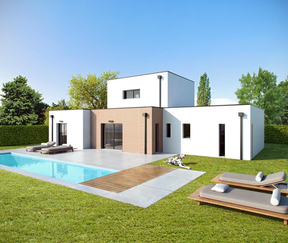 Maisons + Terrains du constructeur ALPHA CONSTRUCTIONS - AGENCE DE COUTRAS • 110 m² • BONZAC