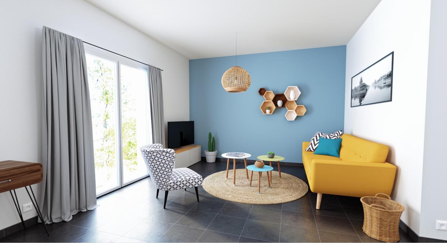Maisons + Terrains du constructeur ALPHA CONSTRUCTIONS - AGENCE DE COUTRAS • 90 m² • COUTRAS