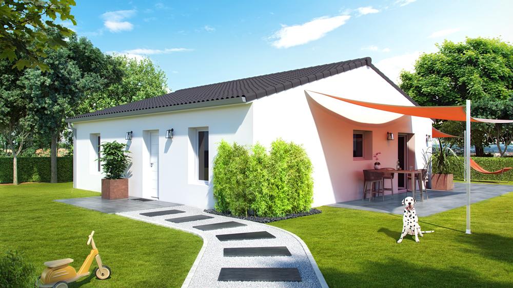 Maisons + Terrains du constructeur ALPHA CONSTRUCTIONS • 90 m² • SADIRAC