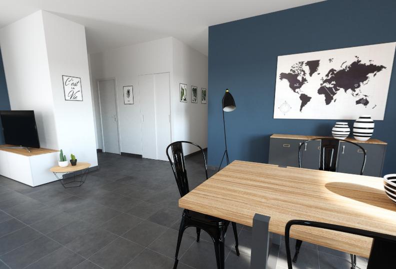 Maisons + Terrains du constructeur ALPHA CONSTRUCTIONS • 77 m² • SAINT CAPRAIS DE BORDEAUX
