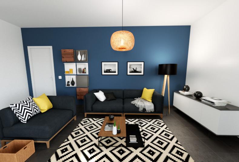 Maisons + Terrains du constructeur ALPHA CONSTRUCTIONS ST ANDRE DE CUBZAC • 80 m² • CAVIGNAC