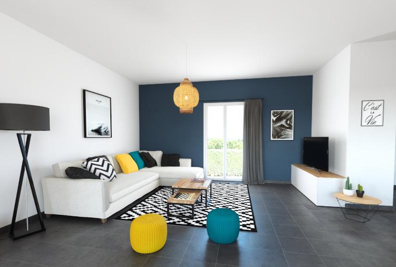Maisons + Terrains du constructeur ALPHA CONSTRUCTIONS ST ANDRE DE CUBZAC • 80 m² • CUBNEZAIS