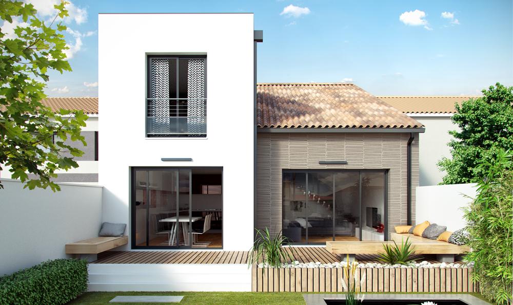 Maisons + Terrains du constructeur COULEUR VILLAS • VILLENAVE D'ORNON