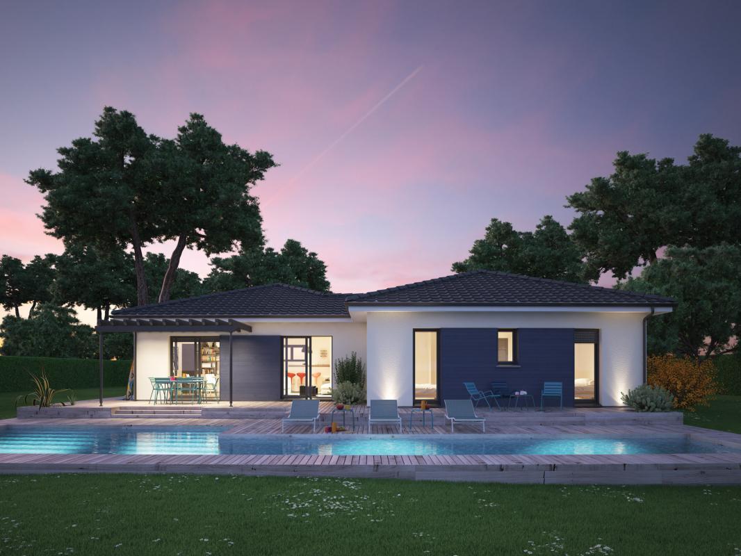 Maisons + Terrains du constructeur COULEUR VILLAS • 115 m² • CREON