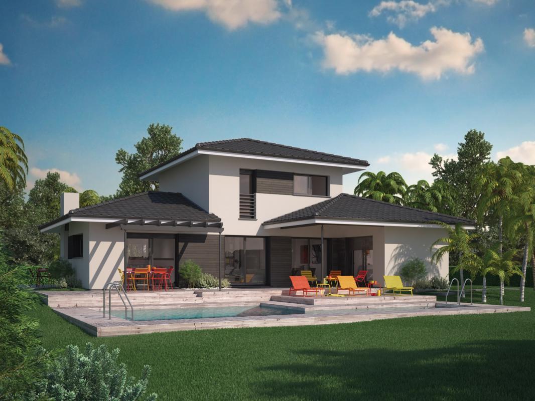 Maisons + Terrains du constructeur COULEUR VILLAS • 110 m² • POMPIGNAC