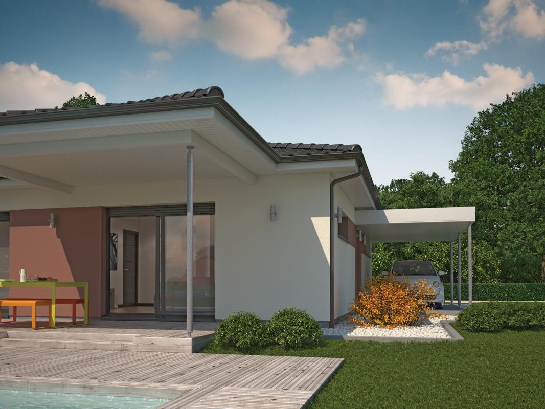 Maisons + Terrains du constructeur COULEUR VILLAS LA TESTE DE BUCH • 90 m² • BIGANOS