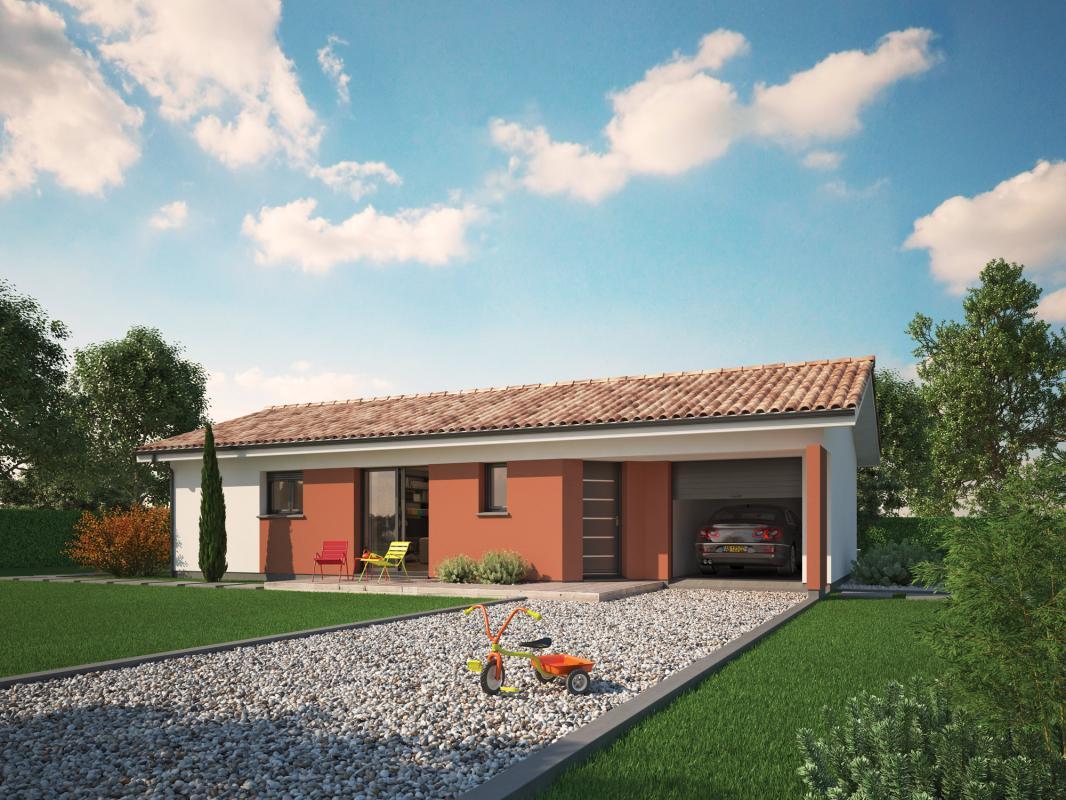 Maisons + Terrains du constructeur COULEUR VILLAS • 90 m² • SOUSTONS