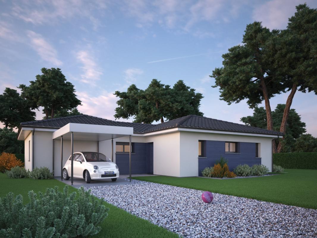 Maisons + Terrains du constructeur COULEUR VILLAS • 100 m² • SOUSTONS