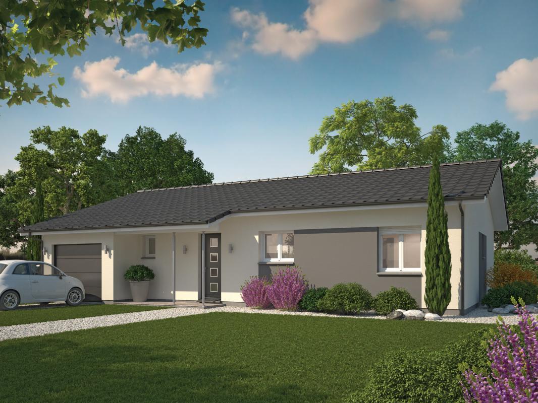 Maisons + Terrains du constructeur COULEUR VILLAS - DAX • 85 m² • DAX