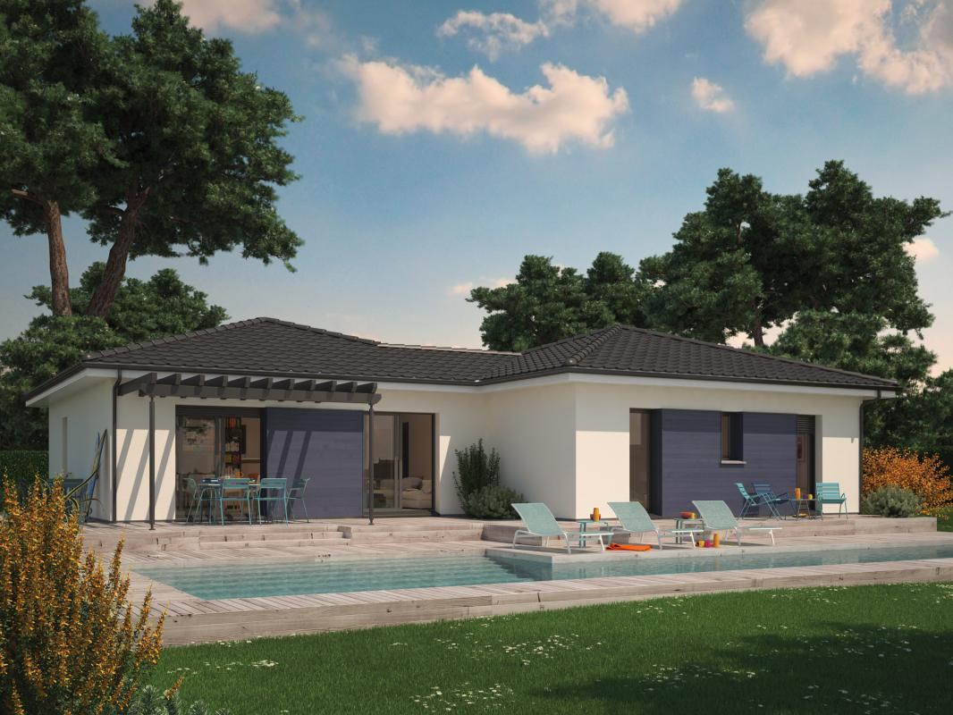 Maisons + Terrains du constructeur COULEUR VILLAS - DAX • 90 m² • TERCIS LES BAINS