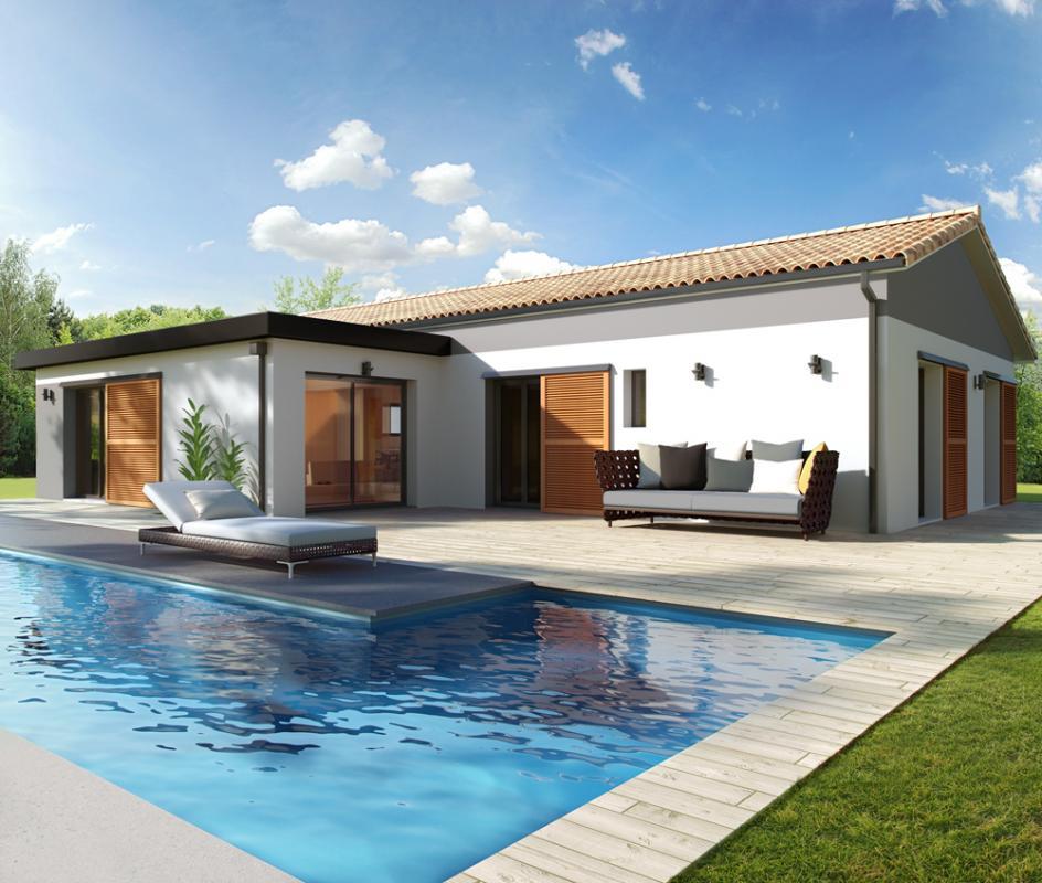 Maisons + Terrains du constructeur ALPHA CONSTRUCTIONS HOMEXPO BORDEAUX PANAMA • 90 m² • LEOGNAN