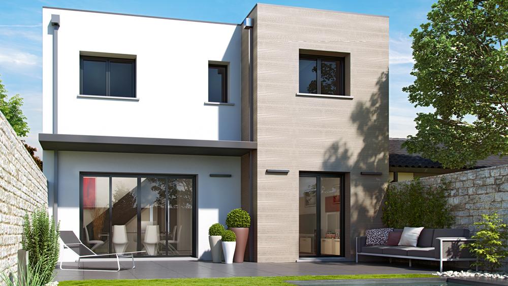 Maisons + Terrains du constructeur ALPHA CONSTRUCTIONS HOMEXPO BORDEAUX PANAMA • 127 m² • PESSAC