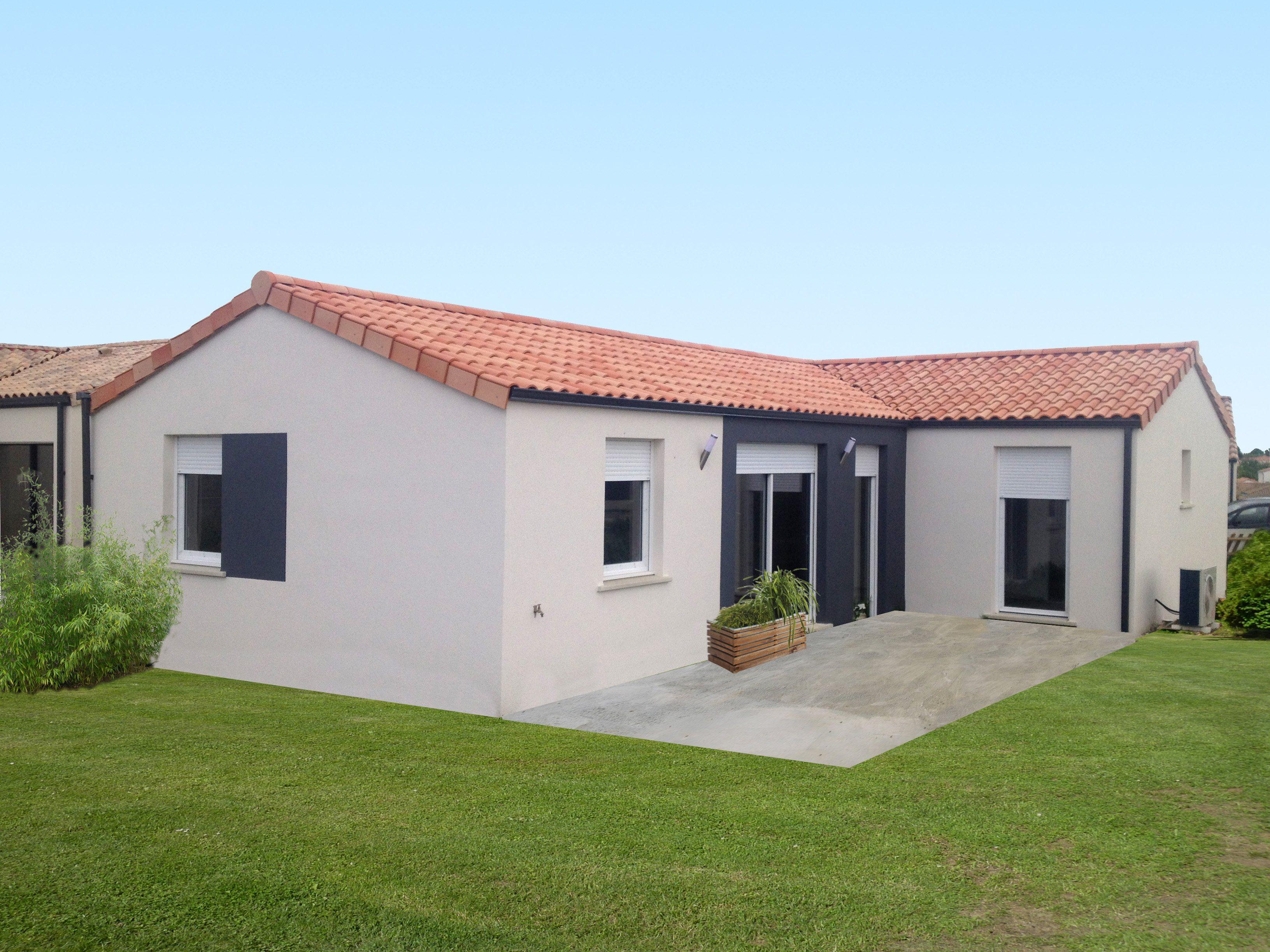 Maisons + Terrains du constructeur MAISON FAMILIALE LA ROCHE-SUR-YON • 107 m² • SAINT VINCENT SUR JARD