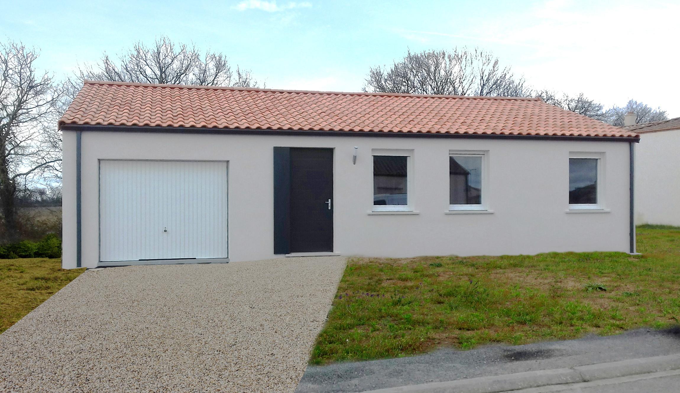 Maisons + Terrains du constructeur MAISON FAMILIALE LA ROCHE-SUR-YON • 86 m² • SAINT VINCENT SUR JARD