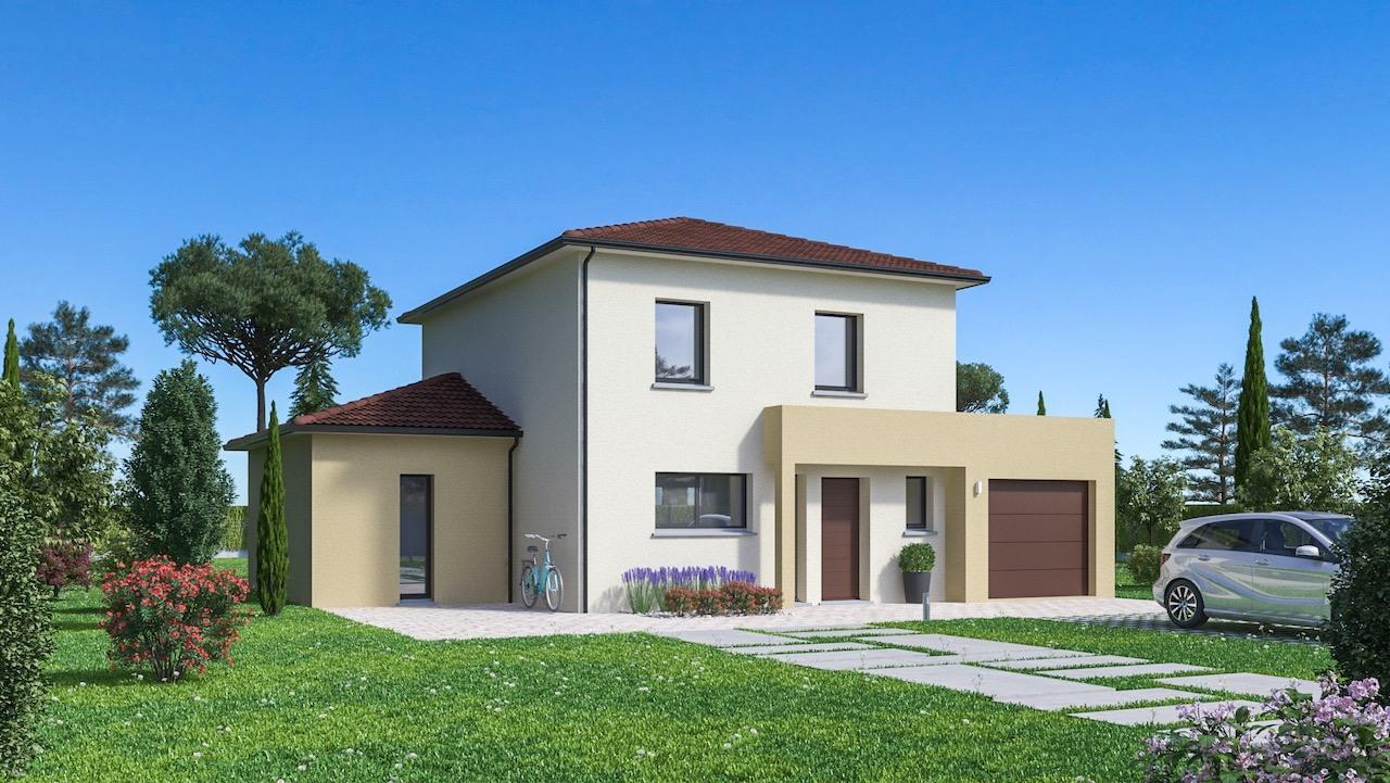 Maisons + Terrains du constructeur Maisons Phénix La-Roche-Sur-Yon • 128 m² • TALMONT SAINT HILAIRE