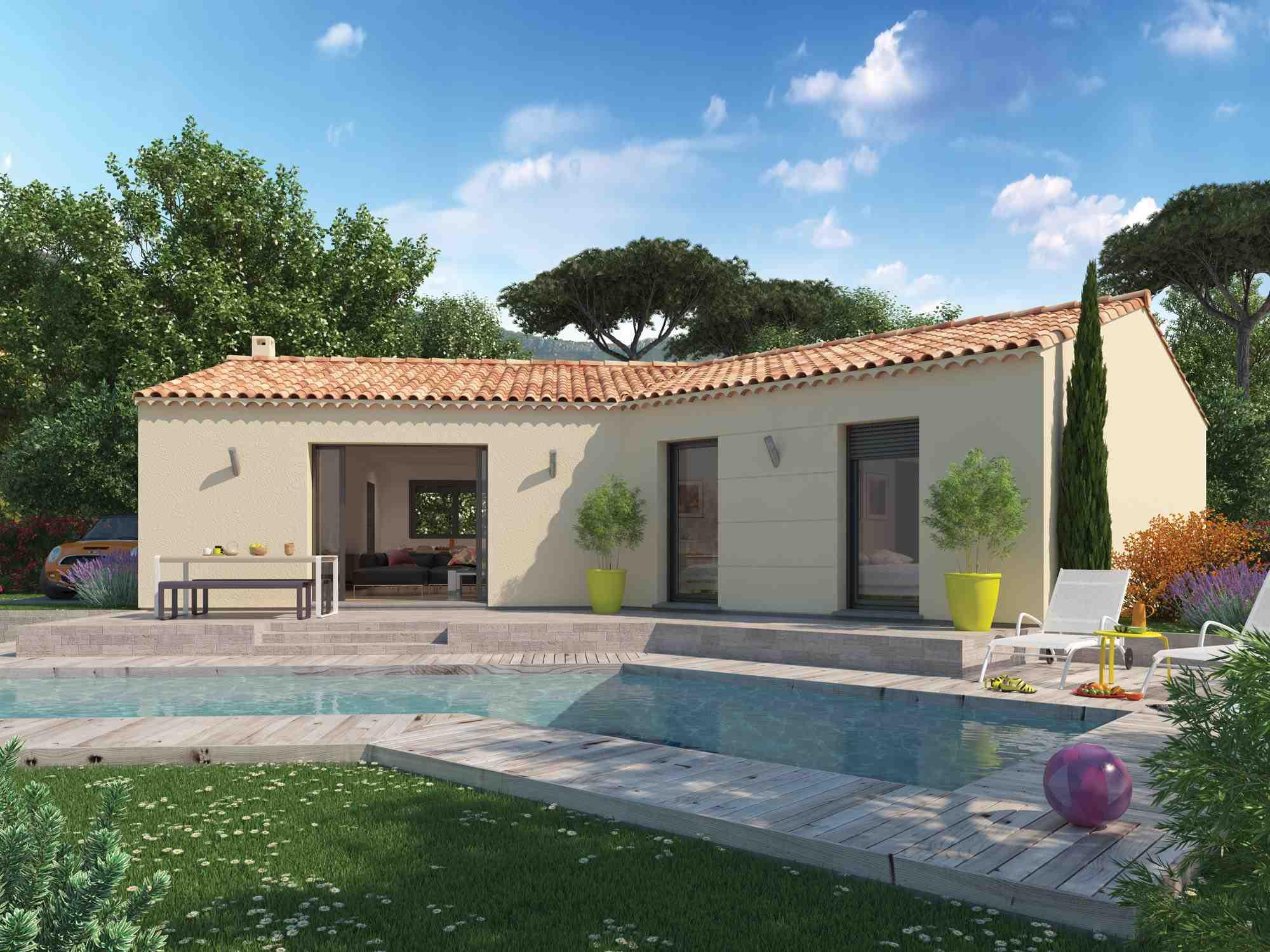 Maisons + Terrains du constructeur Maisons Phénix La-Roche-Sur-Yon • 107 m² • VENANSAULT