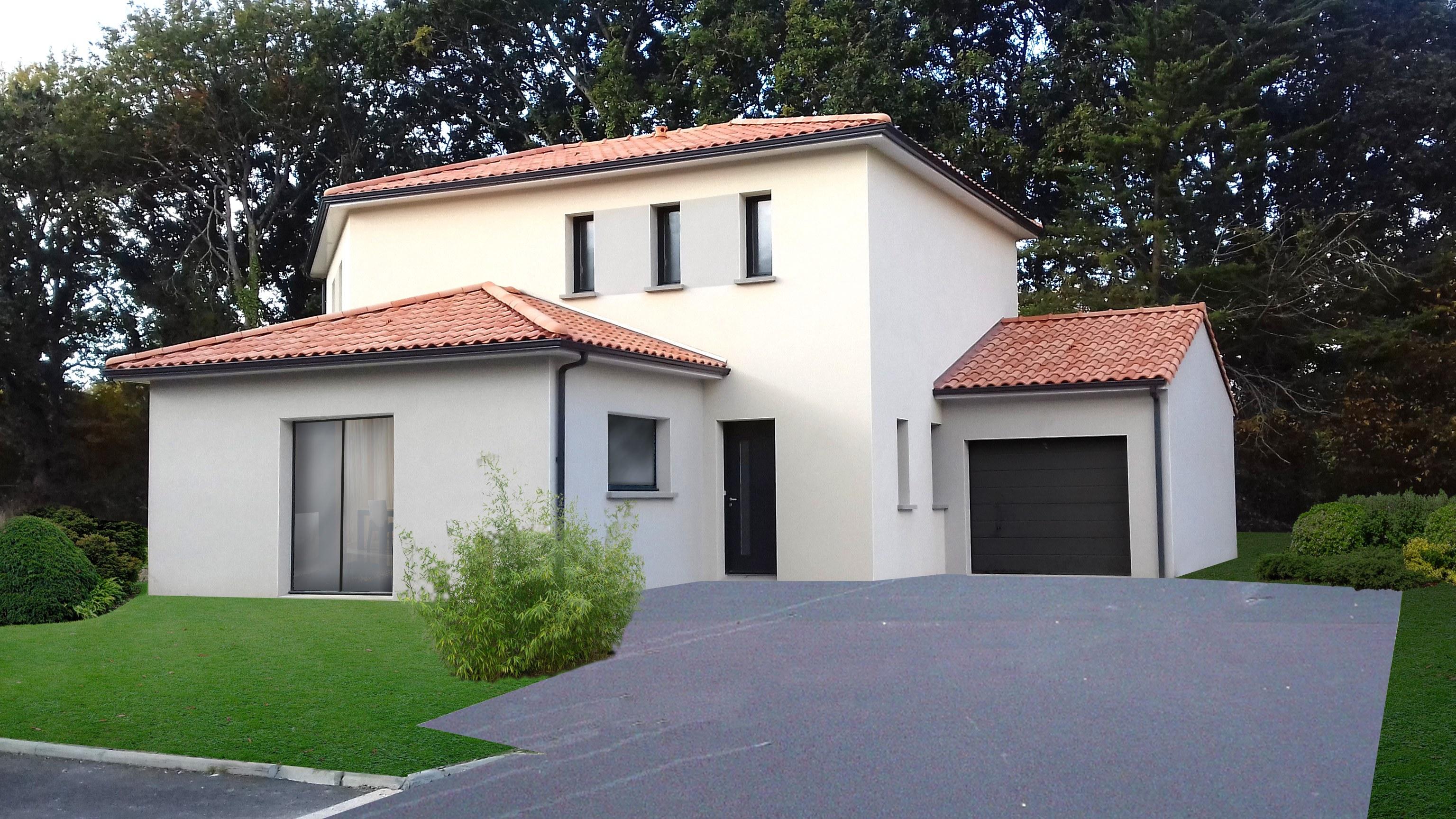 Maisons + Terrains du constructeur Maisons Phénix La-Roche-Sur-Yon • 117 m² • DOMPIERRE SUR YON