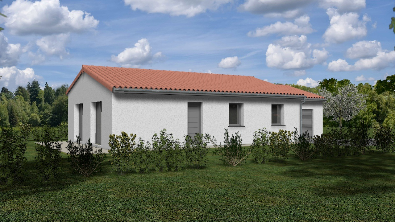 Maisons + Terrains du constructeur TRADIMAISONS • 86 m² • PONT DU CHATEAU