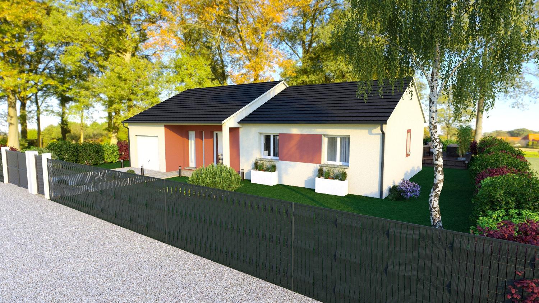 Maisons + Terrains du constructeur LES DEMEURES REGIONALES • 90 m² • LUZILLAT