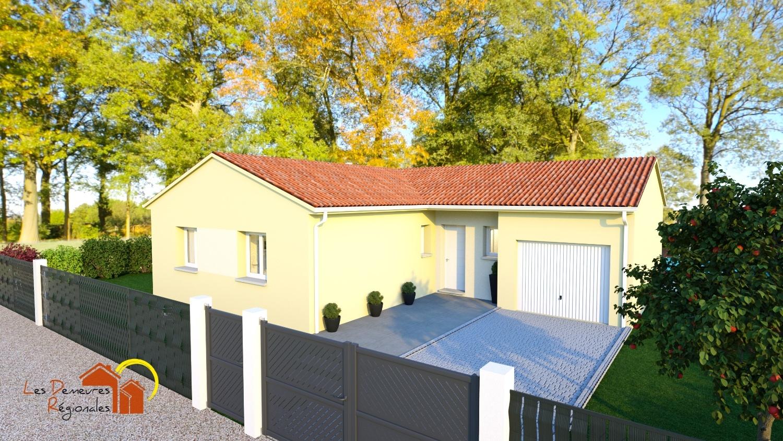 Maisons + Terrains du constructeur LES DEMEURES REGIONALES • 96 m² • SAINT AUBIN EN CHAROLLAIS