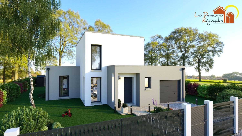 Maisons + Terrains du constructeur LES DEMEURES REGIONALES • 99 m² • MONTCEAU LES MINES
